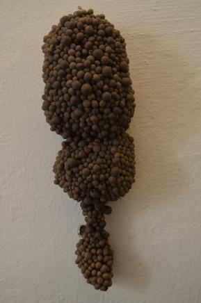 Da série Tactilis Sem titulo Cerâmica sobre superfície macia 40x15x10 2013